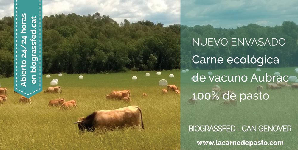 carne ecológica 100% de pasto